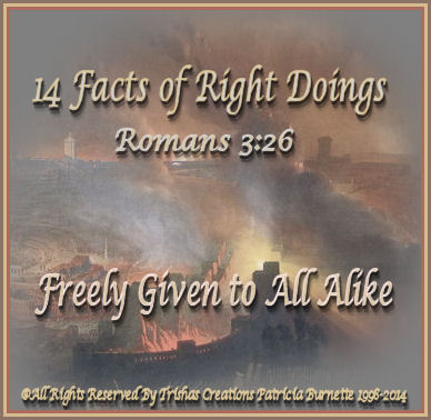 14 Facts Of Right Doings