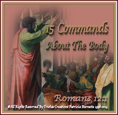 15 Commands About The Body