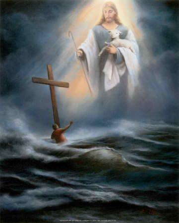 Jesus Reaching Down To Help You