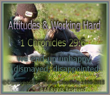 Attitudes & Working Hard