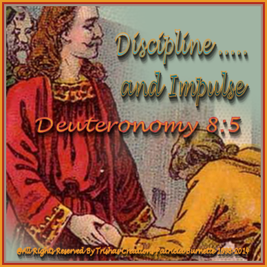 God disciplines us to. Being corrected by God through people and they could be family, friends, pastor, teachers etc