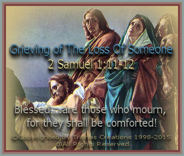 "Matthew 5:4 ""Blessed….are those who mourn, for they shall be comforted!"""