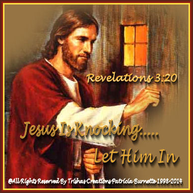 Jesus Is Knocking.....