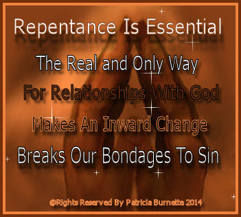 Why Is Repentance Is Essential To A Spiritual Life