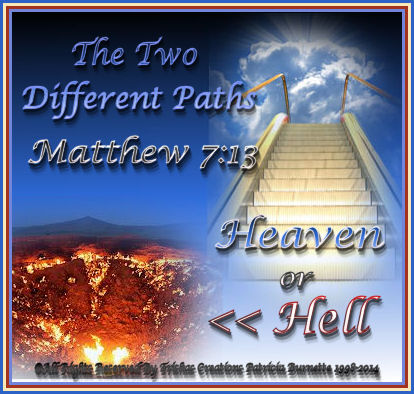 Jesus talks about two different paths we can take in our lives: the broad way and the narrow way.