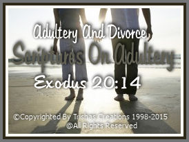 """Matthew 19:9 ESV -- And I say to you: whoever divorces his wife, except for sexual immorality, and marries another, commits adultery."""""""