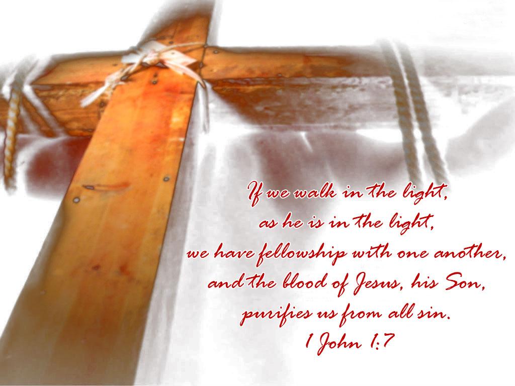 1 John 1:7 The Cross