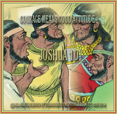 When we read Joshua 10, we see Joshua fought many battles, before they could go to the Promised land.