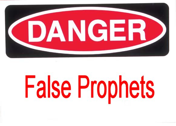 In our day in time, there are many false teachers and false prophets, whom say they are Christians, they say that they are from God's calling.