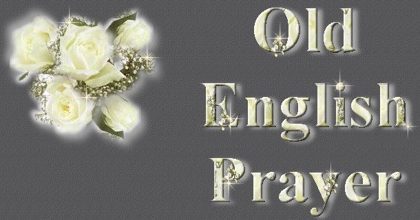 Old English Prayer