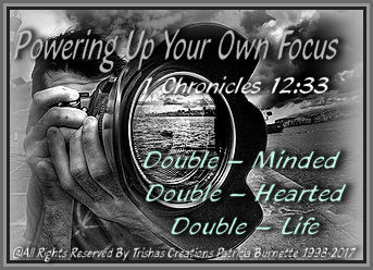 """God, taught many in the BIBLE to be """"Single-Minded"""" for a purpose. Just like He called Abraham, he told him to leave his past behind and to focus in the place that God would show him. That's in Genesis 12:1"""