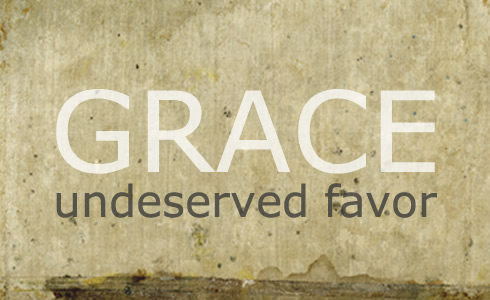 In acrostic fashion we have been taught to define grace as God's Riches At Christ's Expense … GRACE.