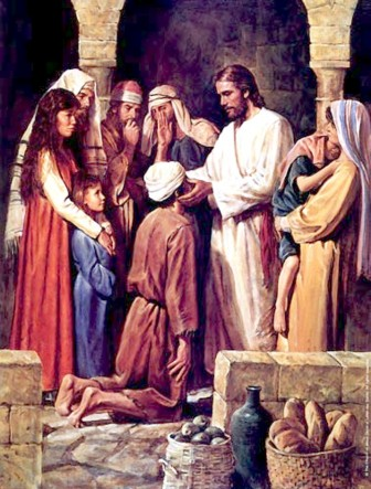 Throughout the Gospels there are records of miracles involving Jesus healing people.
