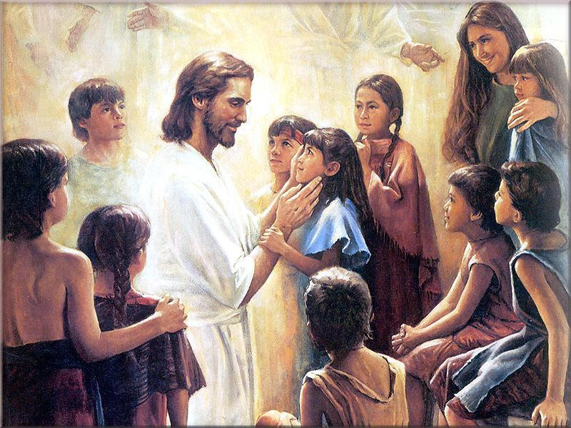 """Truly I tell you, unless you change and become like children, you will never enter the Kingdom of Heaven. Whoever becomes humble like this child is greatest in the Kingdom of Heaven."""