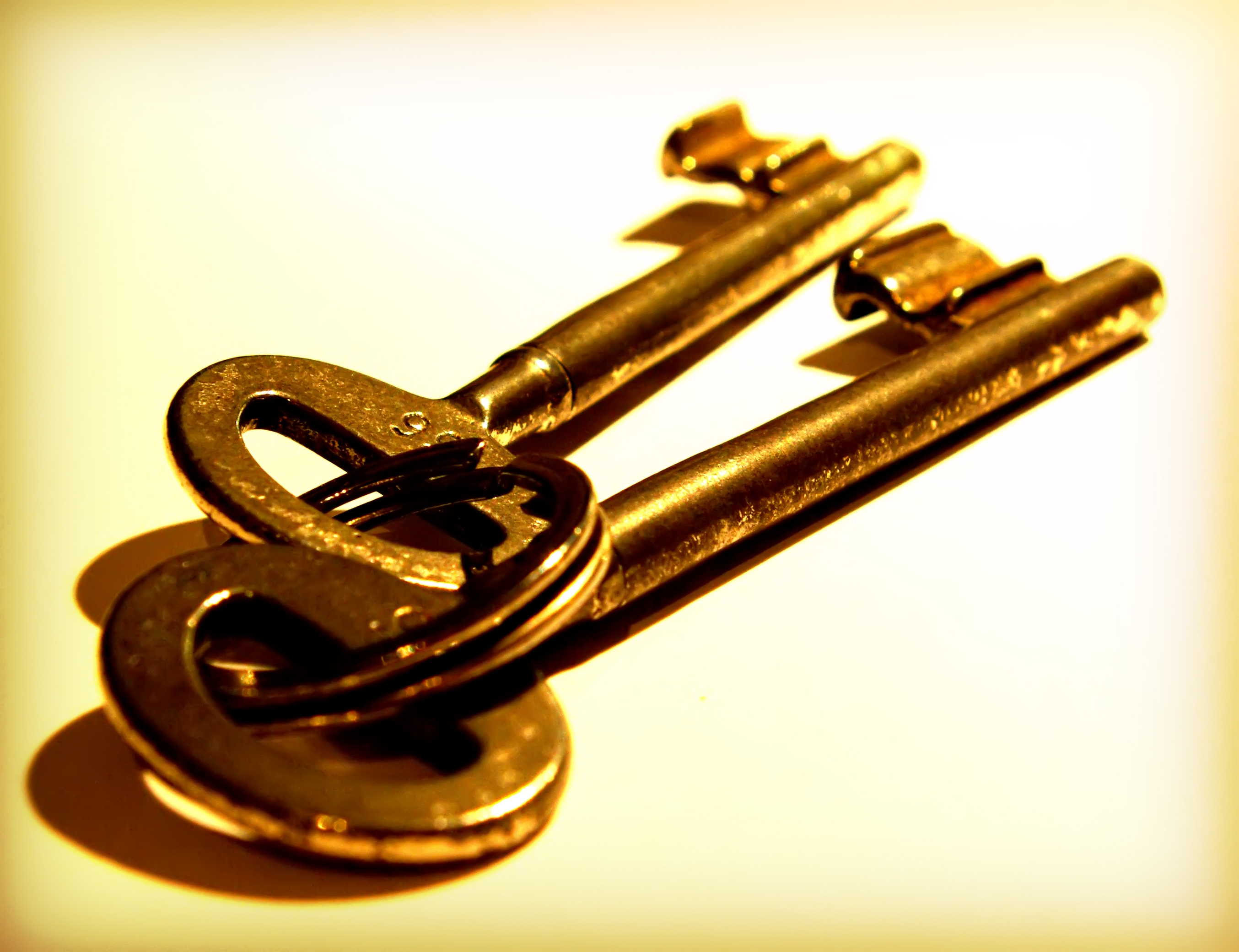 "'""I will give you the keys of the kingdom of heaven."" Matthew 16:19"
