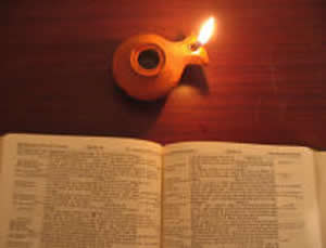 """Is a lamp brought in to be put under the bushel basket, or under the bed, and not on the lamp stand? For there is nothing hidden ,except to be disclosed; nor is anything secret, except to come to light. Let anyone with ears to hear listen !"" Mark 4:21-23"