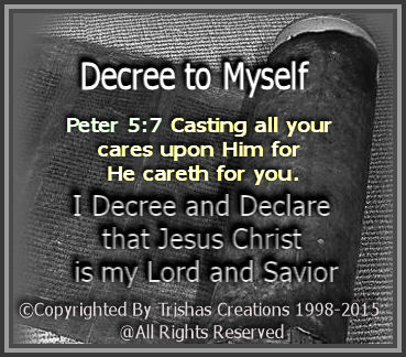 I Decree and Declare any and all unrighteousness to leave me alone, or any access to my life that pertains to anything which is not of God