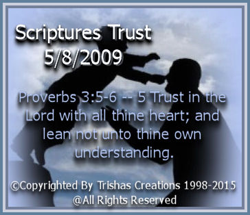Psalm 9:10 And they that know thy name will put their trust in thee: for thou, Lord, hast not forsaken them that seek thee.