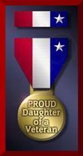 Vet Daughter Medal
