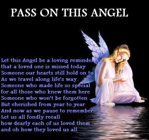 Pass This Angel