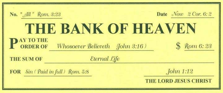 From The Bank Of Heaven