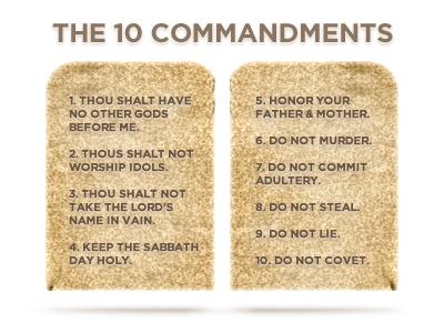 10 Commandments 1